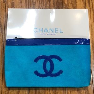 Authentic CHANEL Limited Edition VIP Pouch Bag